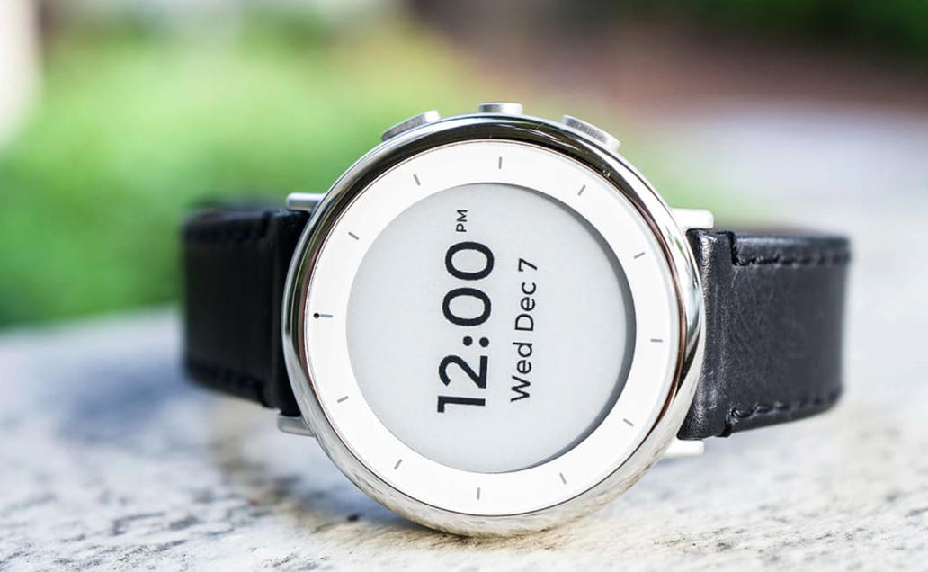 Verily Study Watch, an investigational medical device.