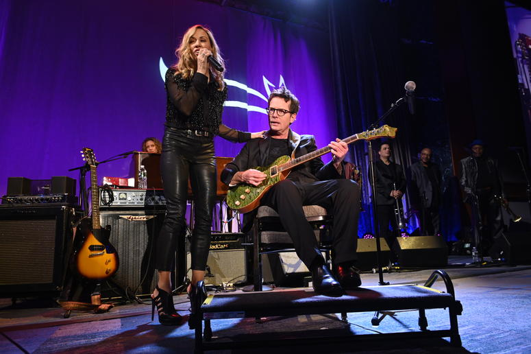 Funny Thing 2019 - Sheryl Crow and MJF on-stage