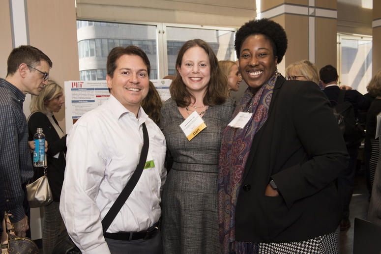 Daniel Kacy Cullen, PhD, (left), Samantha Hutten, PhD, (center) and Ekemini A.U. Riley, PhD (right).