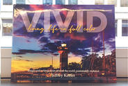 "Cover of the book ""VIVID"" by MJFF Board of Directors chairman Jeff Keefer."