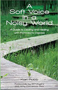 "Book cover for ""A Soft Voice in a Noisy World."""