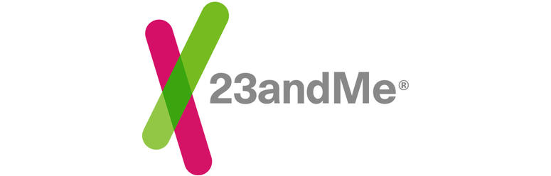 Logo for 23andMe.