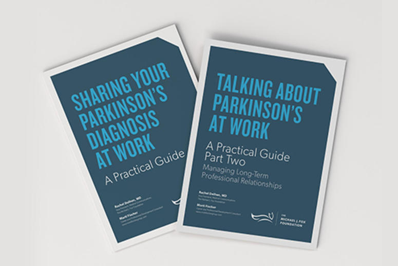 Two practical guides to talking about Parkinson's at work.