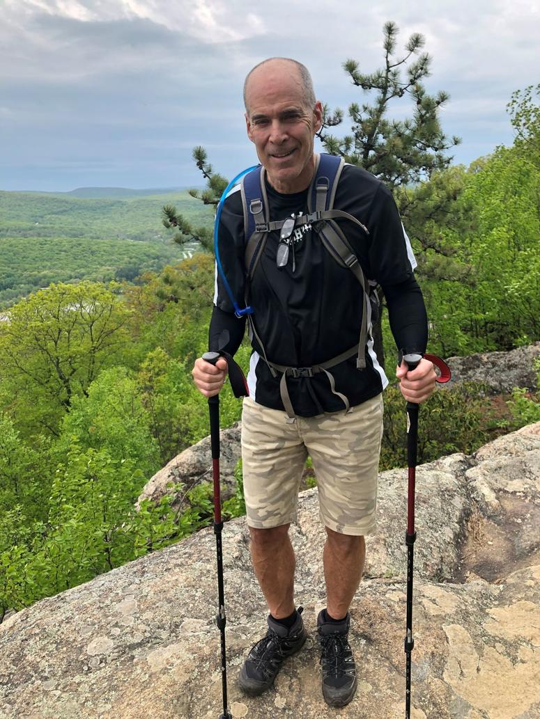 Team Fox member Lou Weinberg is Vice President and legal counsel at Madison Title Agency LLC based in New York. The father of two is an avid skier, hiker, golfer and biker living with Parkinson's.