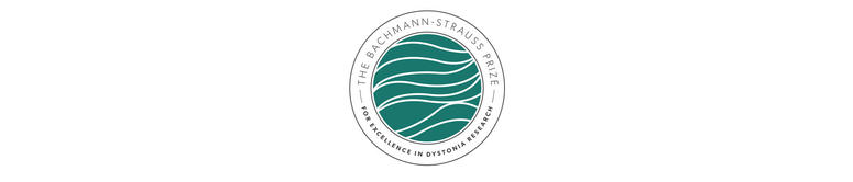 The Bachmann-Strauss Prize, for excellence in dystonia research logo.