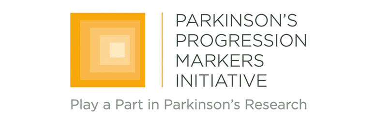 Logo for Parkinson's Progression Markers Initiative.