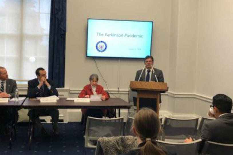 Congressional Caucus Hosts Capitol Hill Briefing on the 'Parkinson's Pandemic'