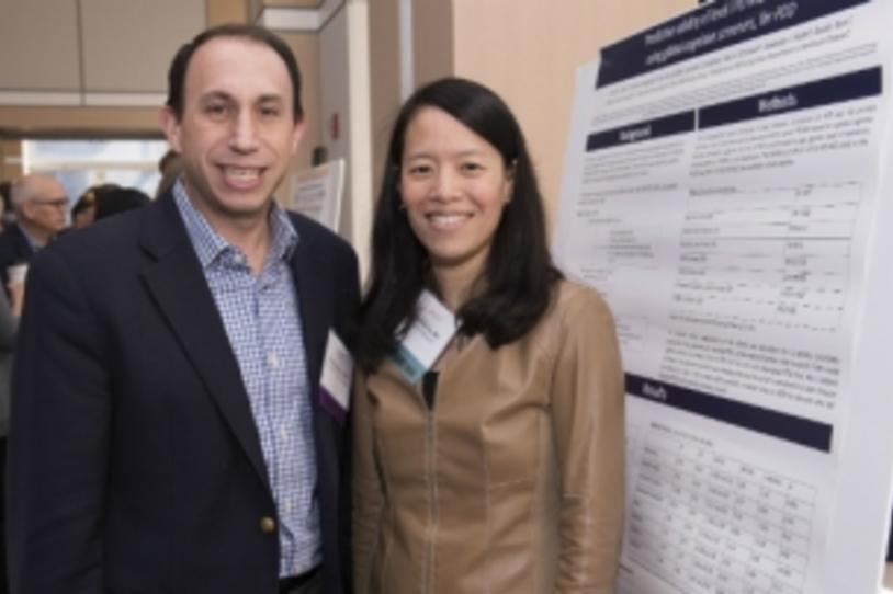 MJFF CEO Todd Sherer and Carole Ho, MD, of Denali Therapeutics