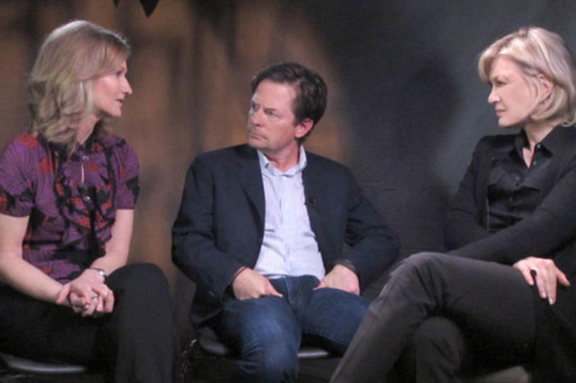 "Watch Yahoo! News and ABC News Interview Michael J. Fox and Debi Brooks on ""Newsmakers"" Series"