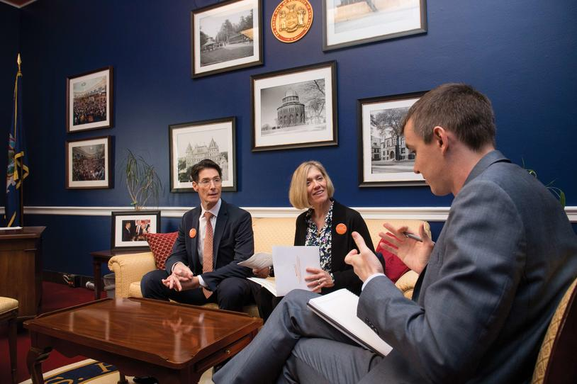 Advocates meet with lawmakers on Researcher Hill Day
