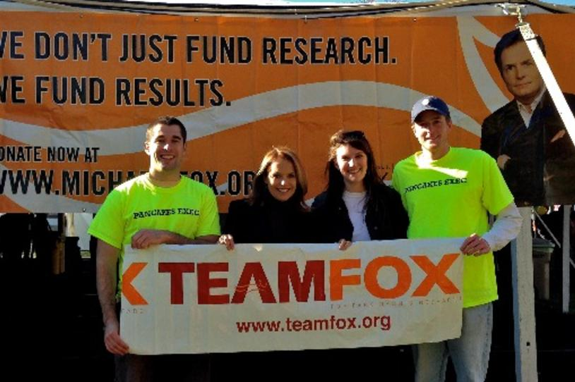 Fox Foto Friday: UVa Flips for a Cure