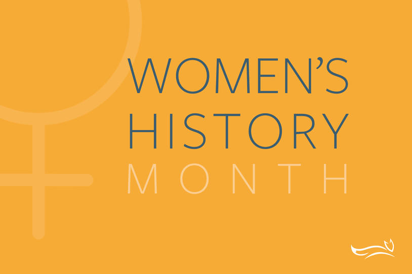 Women's History Month Blog Image