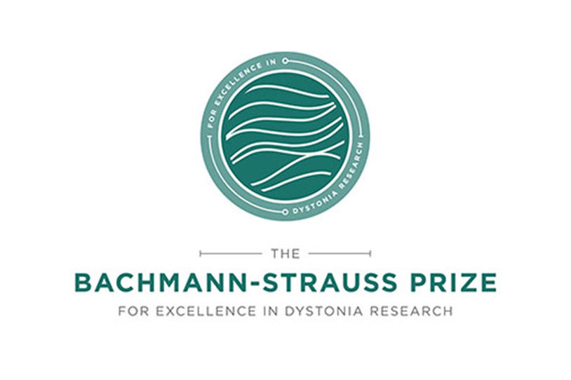 Logo for Bachmann-Strauss Prize for Excellence in Dystonia Research.