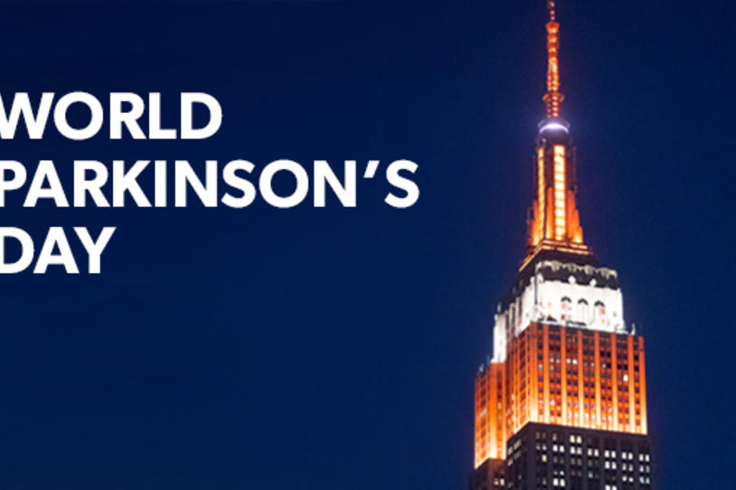 NYC's Empire State Building Illuminated Orange to Mark World Parkinson's Day