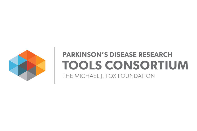 Logo for the Parkinson's Disease Research Tools Consortium at The Michael J. Fox Foundation