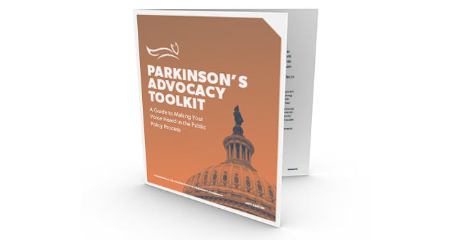"Thumbnail of MJFF's ""Parkinson's Advocacy Toolkit."""