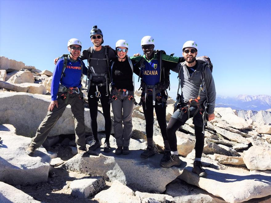 Whitney group at the summit